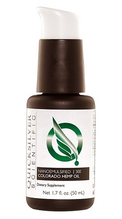 Quicksilver Liposomal Hemp Oil