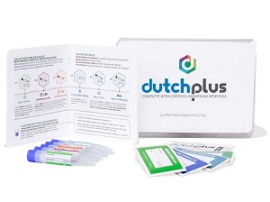Dutch Labs Complete Plus:  Salivary Cortisol + Urinary Hormone Panel